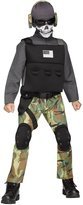 Fun World Costumes Skull Soldier Costume for Kids