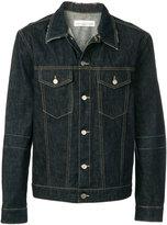 Golden Goose Deluxe Brand fitted denim jacket