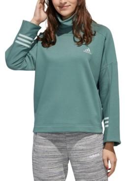 adidas Women's Essential Funnel-Neck Sweatshirt