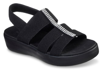 Skechers Cali Light Star Fun Day Wedge Sandal