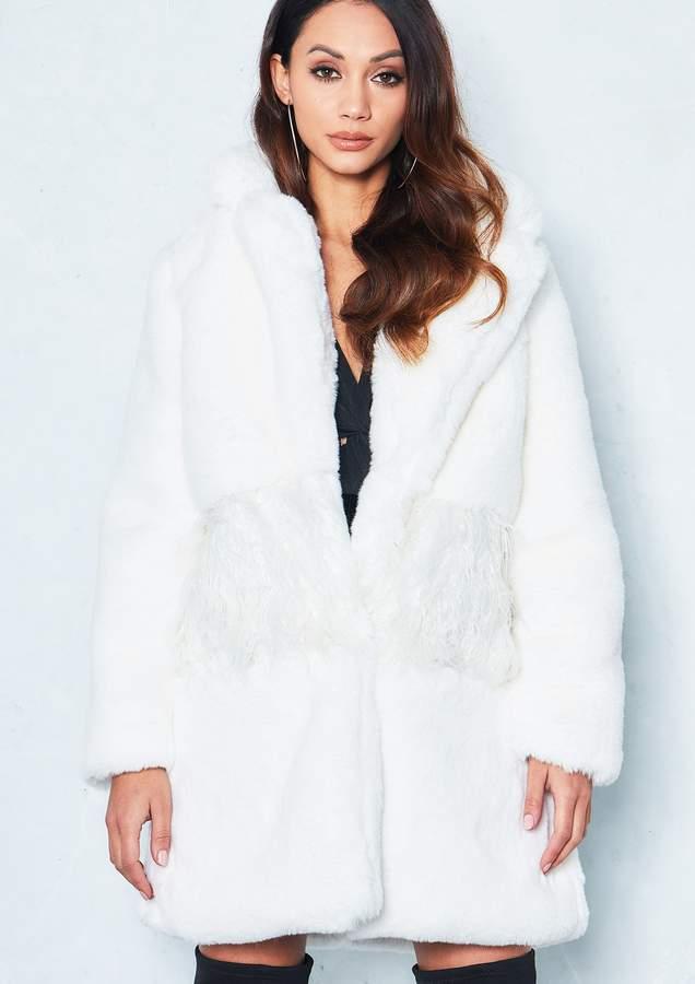 2ac00621f8d83 Shaggy Faux Fur Coat - ShopStyle UK