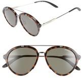 Men's Carrera Eyewear 54Mm Aviator Sunglasses - Havana Gold