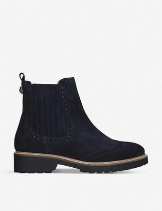 Kurt Geiger Reina brogue leather Chelsea boots