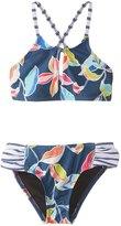 Splendid Girl's Tropical High Neck Two Piece Swimsuit 8161951
