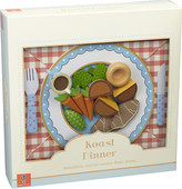 Orange Tree Toys Wooden roast dinner toy set