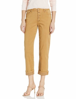 Jag Jeans Women's Joan Straight Button Fly Crop Pant