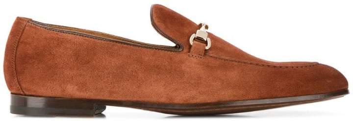 Doucal's horsebit detail loafers