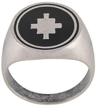Marcelo Burlon County of Milan Logo Signet Ring