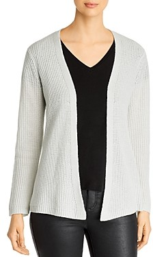 Eileen Fisher Straight Open-Front Cardigan