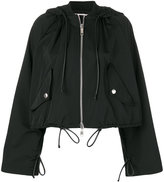 Sportmax cropped parka jacket