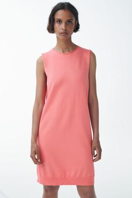 Cos Organic Cotton Knitted Sleeveless Dress