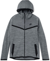 Nike Mélange Tech Knit Zip-Up Hoodie
