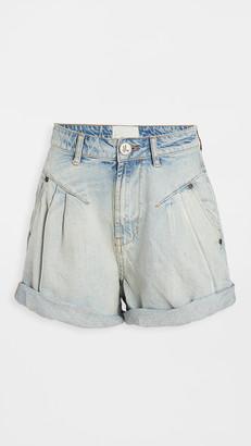 One Teaspoon Streetwalkers High Waist 80's Shorts