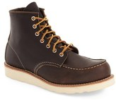 Red Wing Shoes Men's 6 Inch Moc Toe Boot