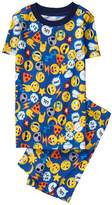 Gymboree Emoji 2-Piece Pajamas