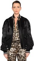 Haider Ackermann Oversized Patchwork Bomber Jacket