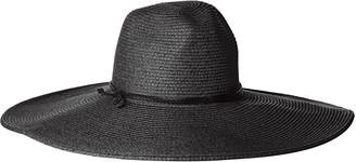 San Diego Hat Company Women's Floppy Sun Hat with Pinched Crown and Twisted Band
