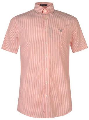 Gant Short Sleeve Pop Stripe Shirt Mens