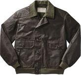 Filson Ranger Oil Cloth Bomber Jacket