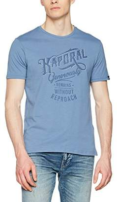 Kaporal Men's Tanja T - Shirt - Blue