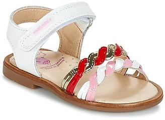 Pablosky Kids BUJAD girls's Sandals in White