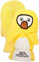 Trespass Childrens Unisex Quack Fleece Mittens