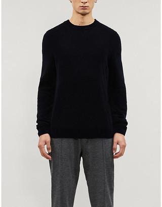 BOSS Crewneck stretch-knit jumper