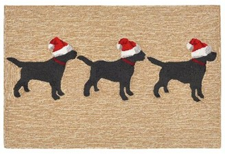 """The Holiday Aisle Hand-Tufted Neutral Indoor/Outdoor Rug Rug Size: 2'6"""" x 4'"""
