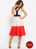 Myleene Klass Colour Block Full Circle Dress