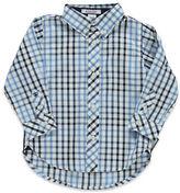 Hartstrings Baby Boys Checkered Sportshirt