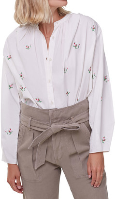 Citizens of Humanity Nadia Floral Button-Down Shirt