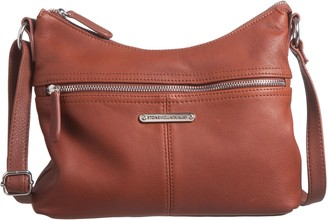 Stone Mountain USA Butter Leather East/West Hobo Bag