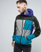 Penfield Cranford Hooded Jacket Colour Block Hooded In Black