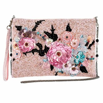 Mary Frances Love Endures Disney Maleficent 2 Beaded Crossbody Handbag