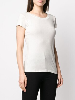 L'Agence scoop neck T-shirt