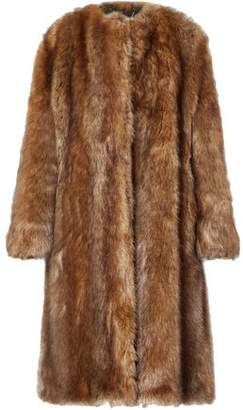 Givenchy Oversized Faux Fur Coat