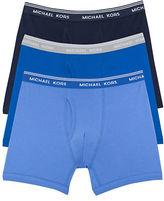 Michael Kors Three-Pack Cotton Boxer Briefs