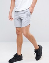 Jack and Jones Mixed Fabric Sweat Shorts