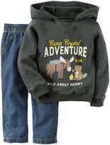 Carter's 2 Piece Sweater Set - Grey - 2T