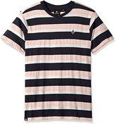 Akademiks Men's Short Sleeve Striped Top