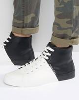 Calvin Klein Buck Block Hi Top Sneakers