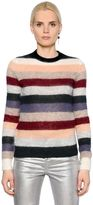 Etoile Isabel Marant Multicolor Striped Mohair & Wool Sweater