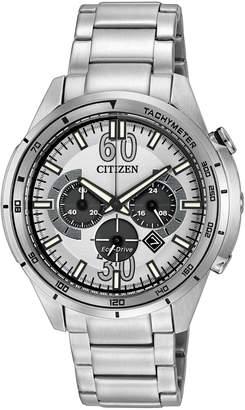 Citizen Men's Eco-Drive Chrono Bracelet Watch, 46mm