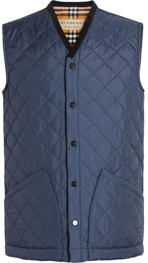 Burberry Diamond Quilted Gilet