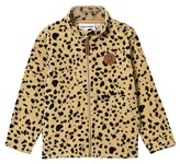 Mini Rodini Fleece Spot Jacket Beige