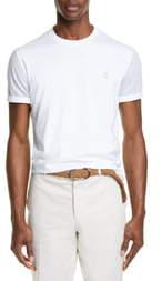 Brunello Cucinelli Contrast Sleeve T-Shirt