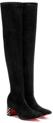 Christian Louboutin Study Stretch 55 suede boots