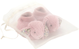 Jellycat Blossom Tulip Baby Bunny Booties, One Size, Pink