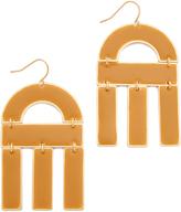 Madewell Oversized Enamel Earrings