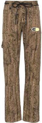Off-White Camo Cotton Sweat Pants